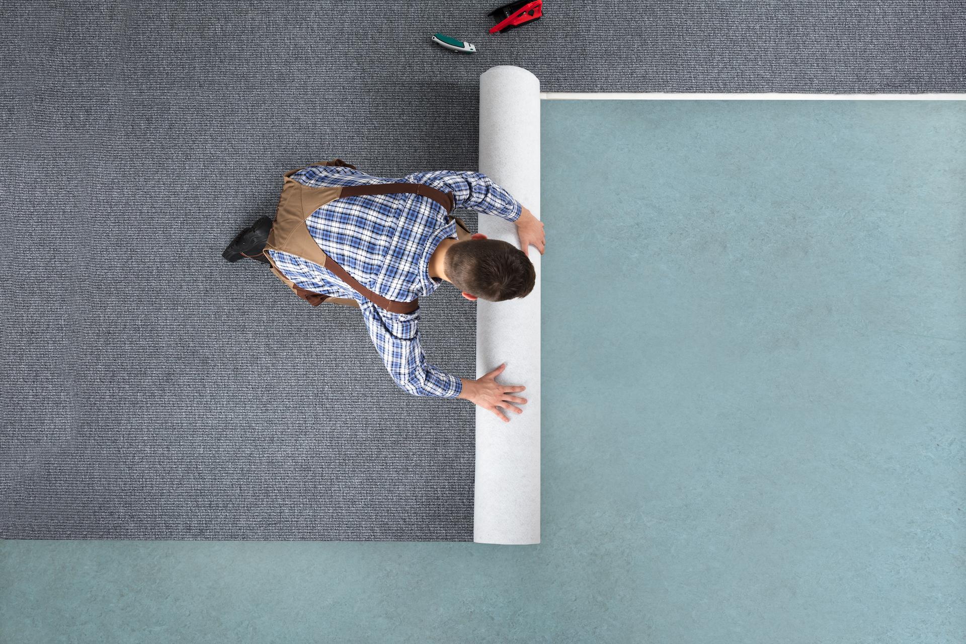 Teppichboden verlegen lassen